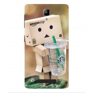 Coque De Protection Amazon Starbucks Pour Lenovo A Plus