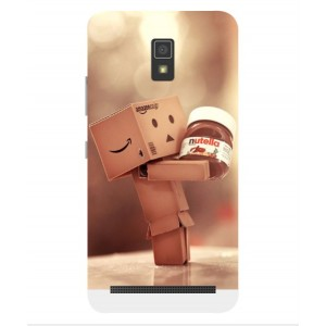 Coque De Protection Amazon Nutella Pour Lenovo A6600 Plus