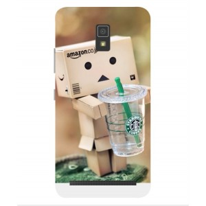 Coque De Protection Amazon Starbucks Pour Lenovo A6600 Plus