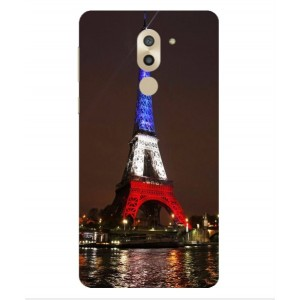 Coque De Protection Tour Eiffel Couleurs France Pour Huawei Honor 6X