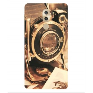 Coque De Protection Appareil Photo Vintage Pour Huawei Honor 6X