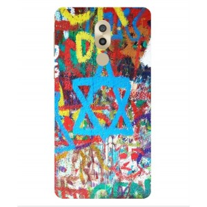 Coque De Protection Graffiti Tel-Aviv Pour Huawei Honor 6X