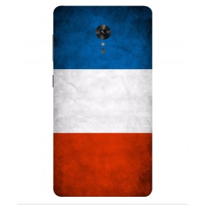 Coque De Protection Drapeau De La France Pour Lenovo ZUK Edge