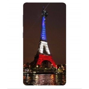 Coque De Protection Tour Eiffel Couleurs France Pour Lenovo ZUK Edge