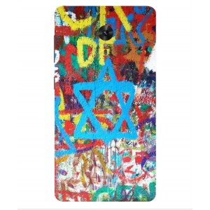 Coque De Protection Graffiti Tel-Aviv Pour Lenovo ZUK Edge