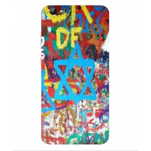 Coque De Protection Graffiti Tel-Aviv Pour Vivo V5 Lite