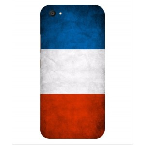 Coque De Protection Drapeau De La France Pour Vivo V5 Plus