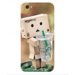 Coque De Protection Amazon Starbucks Pour Vivo V5 Plus