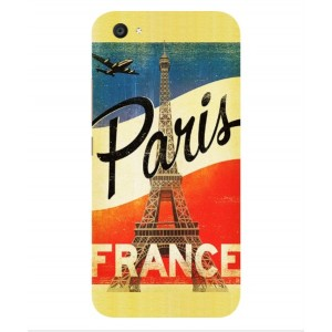 Coque De Protection Paris Vintage Pour Vivo V5 Plus
