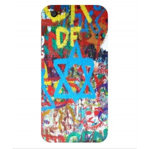 Coque De Protection Graffiti Tel-Aviv Pour Vivo V5 Plus