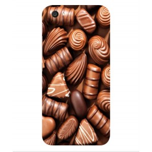 Coque De Protection Chocolat Pour Vivo V5 Plus