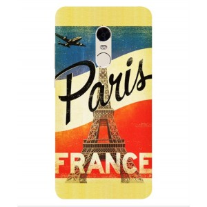 Coque De Protection Paris Vintage Pour Xiaomi Redmi Note 4