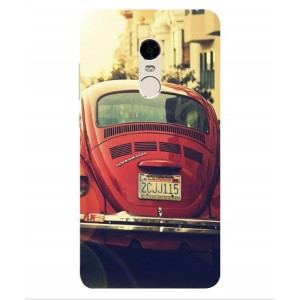 Coque De Protection Voiture Beetle Vintage Xiaomi Redmi Note 4