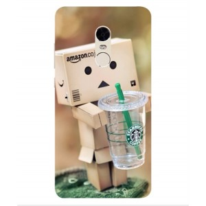 Coque De Protection Amazon Starbucks Pour Xiaomi Redmi Note 4