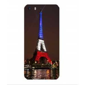 Coque De Protection Tour Eiffel Couleurs France Pour iPhone 5s