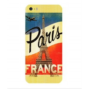 Coque De Protection Paris Vintage Pour iPhone 5s