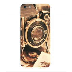 Coque De Protection Appareil Photo Vintage Pour iPhone 5s