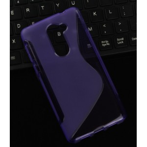 Coque De Protection En Silicone Violet Pour Huawei Honor 6X