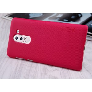 Coque De Protection Rigide Rouge Pour Huawei Honor 6X