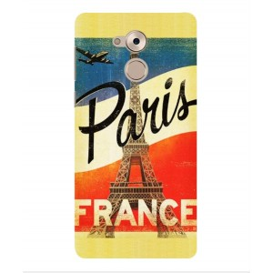 Coque De Protection Paris Vintage Pour Huawei Enjoy 6s