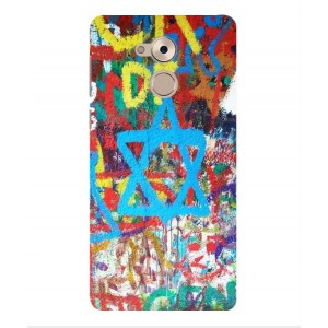 Coque De Protection Graffiti Tel-Aviv Pour Huawei Enjoy 6s