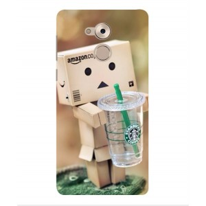 Coque De Protection Amazon Starbucks Pour Huawei Enjoy 6s