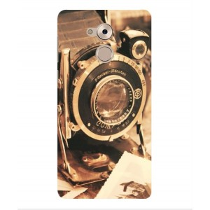 Coque De Protection Appareil Photo Vintage Pour Huawei Enjoy 6s