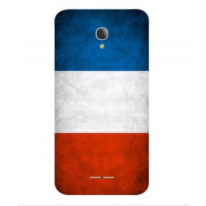 Coque De Protection Drapeau De La France Pour Alcatel Fierce 4