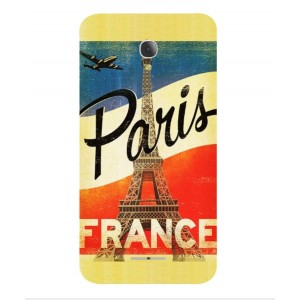 Coque De Protection Paris Vintage Pour Alcatel Fierce 4