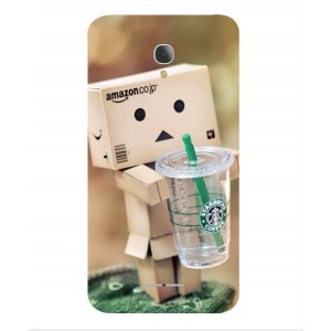 Coque De Protection Amazon Starbucks Pour Alcatel Fierce 4
