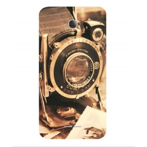 Coque De Protection Appareil Photo Vintage Pour Alcatel Fierce 4