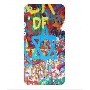 Coque De Protection Graffiti Tel-Aviv Pour Alcatel Fierce 4