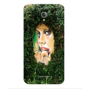 Coque De Protection Art De Rue Pour Alcatel Fierce 4