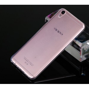 Coque De Protection En Silicone Transparent Pour Oppo F1 Plus