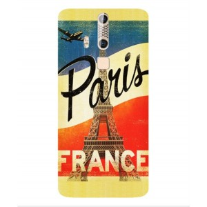 Coque De Protection Paris Vintage Pour ZTE Axon Elite