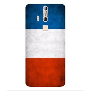 Coque De Protection Drapeau De La France Pour ZTE Axon Elite