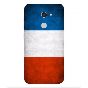 Coque De Protection Drapeau De La France Pour Alcatel A3