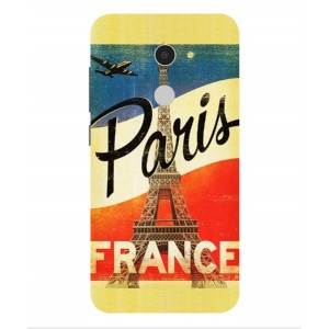 Coque De Protection Paris Vintage Pour Alcatel A3