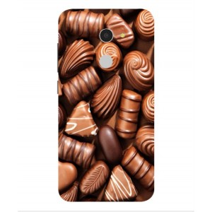 Coque De Protection Chocolat Pour Alcatel A3