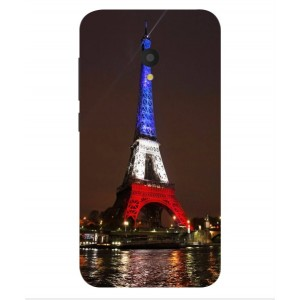 Coque De Protection Tour Eiffel Couleurs France Pour Alcatel U5