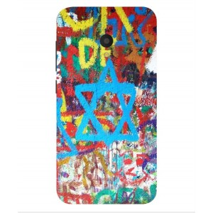 Coque De Protection Graffiti Tel-Aviv Pour Alcatel U5