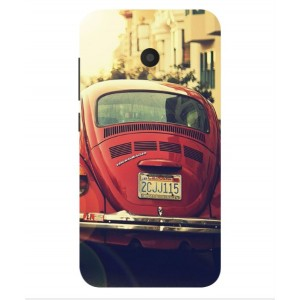 Coque De Protection Voiture Beetle Vintage Alcatel U5