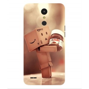 Coque De Protection Amazon Nutella Pour LG K10 (2017)