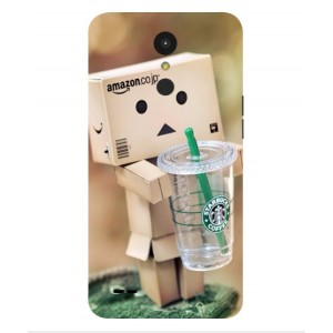 Coque De Protection Amazon Starbucks Pour LG K4 (2017)