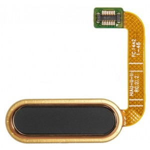 Bouton Home Principal Couleur Or Pour HTC One A9