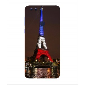 Coque De Protection Tour Eiffel Couleurs France Pour Huawei Honor 8 Pro