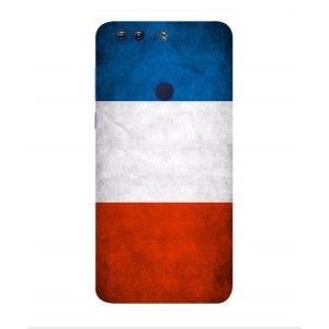 Coque De Protection Drapeau De La France Pour Huawei Honor 8 Pro