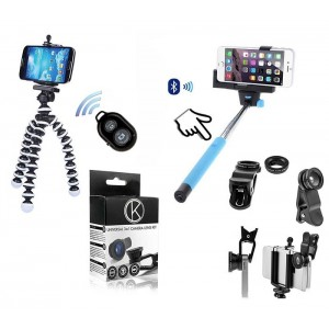 Pack Photographe Pour Alcatel A5 LED