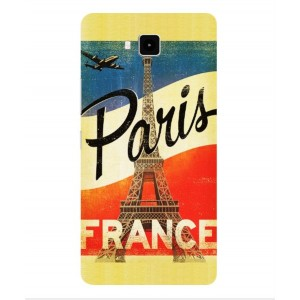 Coque De Protection Paris Vintage Pour Cubot Echo