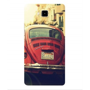 Coque De Protection Voiture Beetle Vintage Cubot Echo
